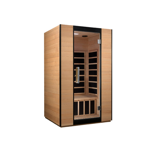 Veneto 2 Person Ultra Low EMF FAR Infrared Sauna