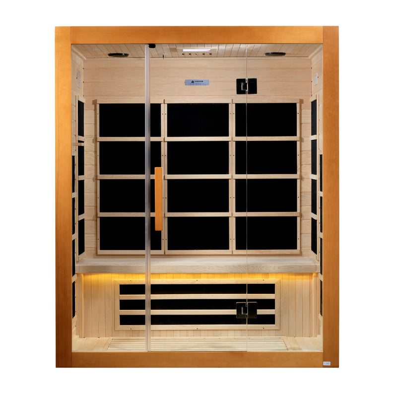 DYN-6308-01 Marseille 3 Person Ultra Low EMF Far Infrared Sauna