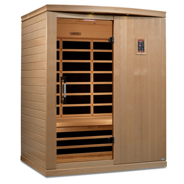 ***New 2021 Model*** Madrid Elite 3 Person Ultra Low EMF FAR Infrared Sauna