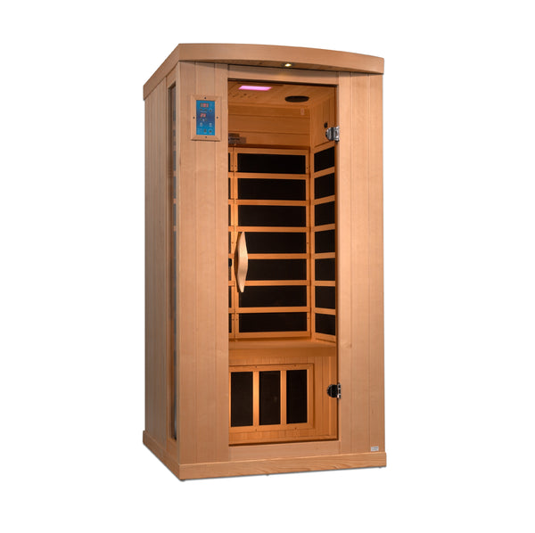 ***Limited Edition*** Marsan 1-2 Person Ultra Low EMF FAR Infrared Sauna