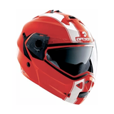 Casco para Moto Caberg Duke Legend Rojo Blanco Abatible