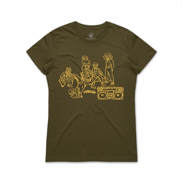 Barkdance Tee (Ladies)