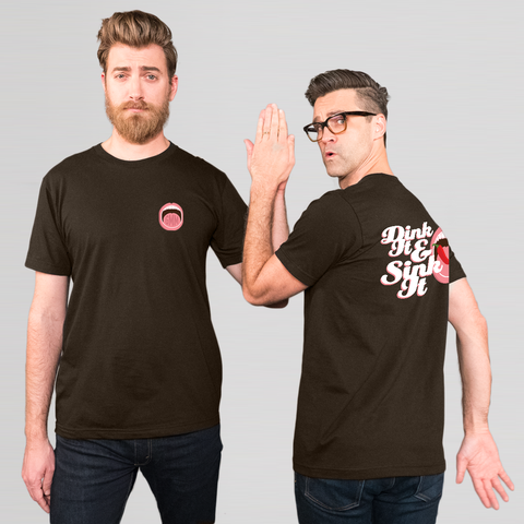 GMM Dink It & Sink It Tee (Unisex/Dark Brown)