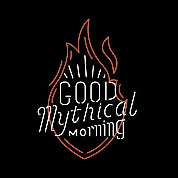 Good Mythical Morning Neon Sign Tee