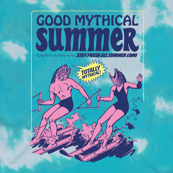 Good Mythical Summer Stay Fresh Tee
