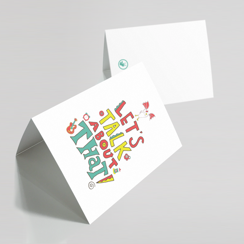 Let's Talk About That Greeting Card