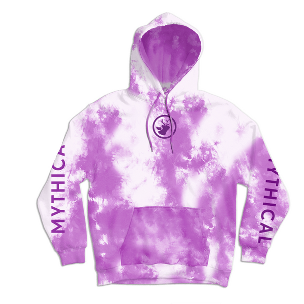 Mythical Crystal Wash Hoodie (Pastel Purple)