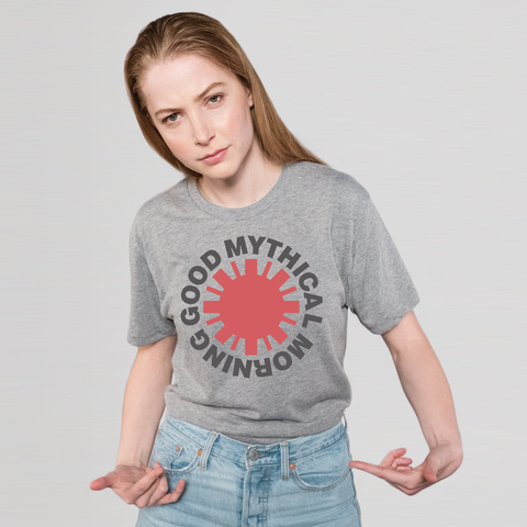 Red Hot GMM Tee (Unisex/Grey)