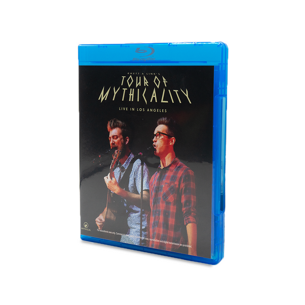 Tour of Mythicality Blu-Ray