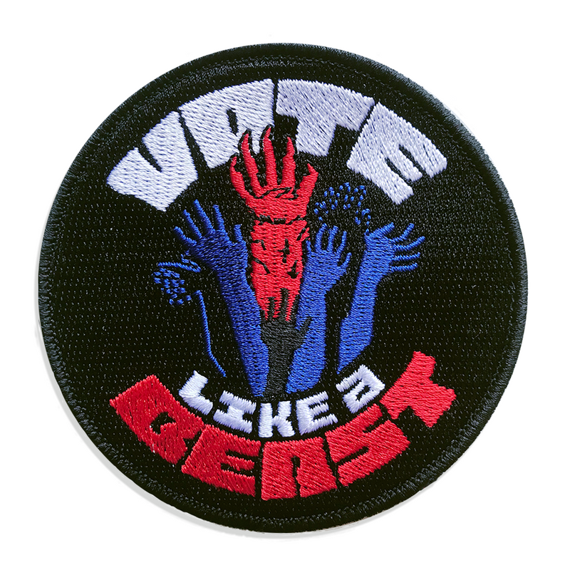 Vote Like a Beast Patch
