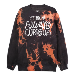 Always Curious Splatter Sweatshirt