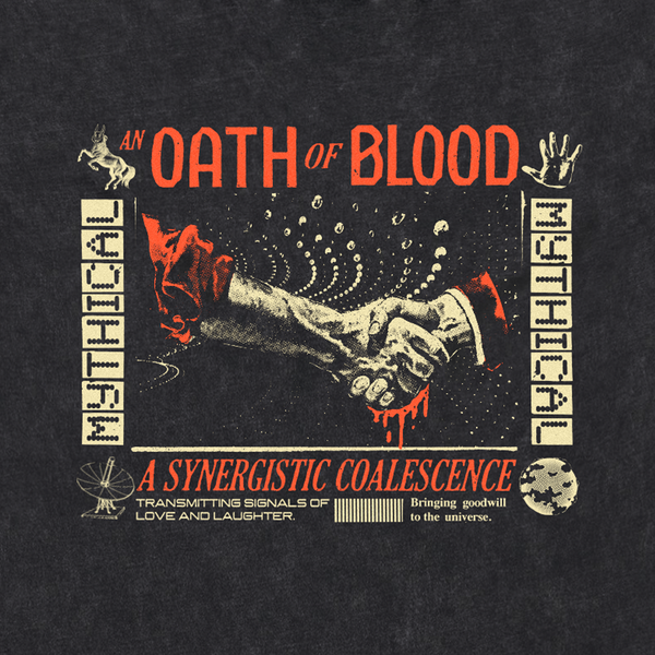 Blood Oath Long Sleeve Tee