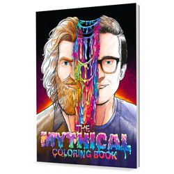 Mythical Coloring Book