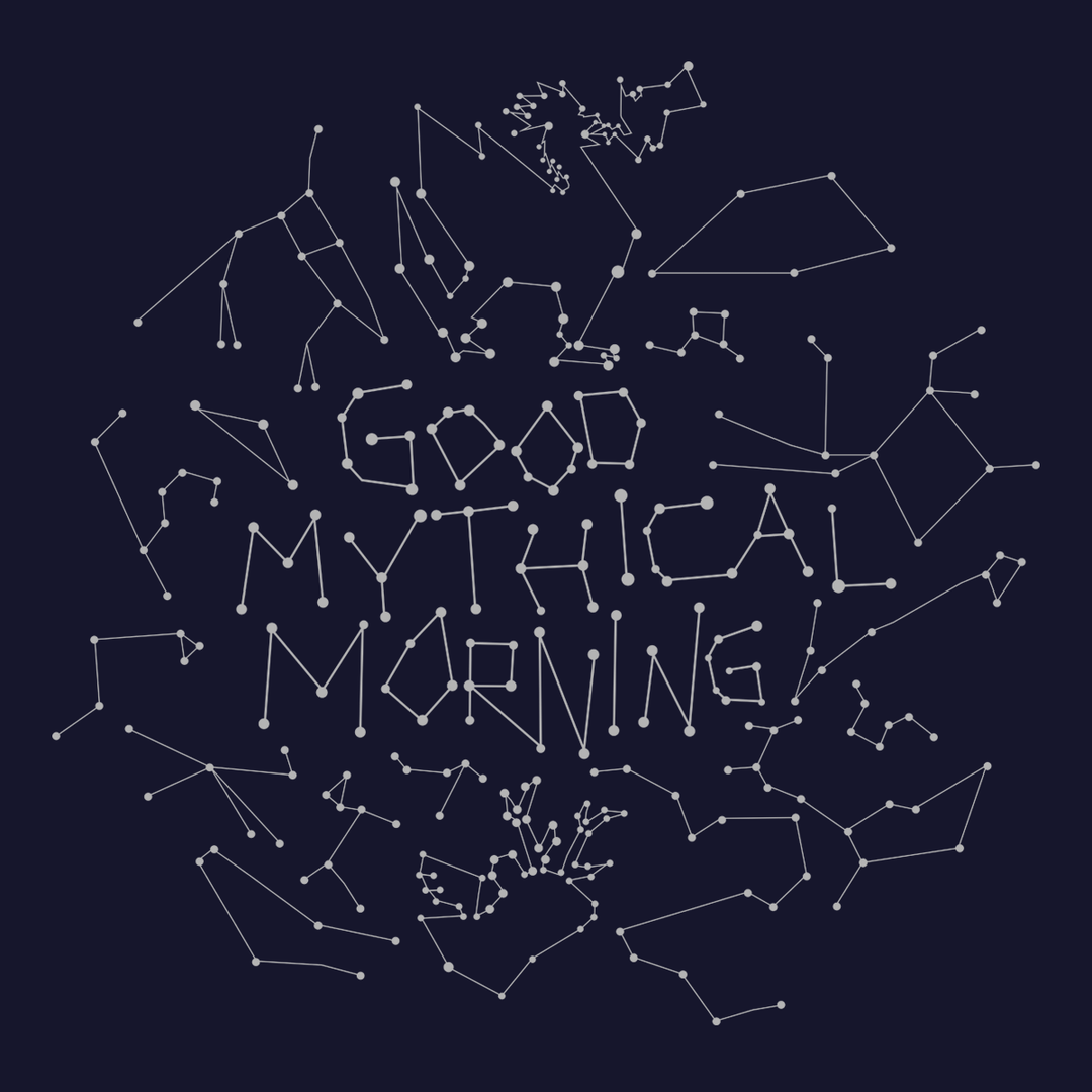 Good Mythical Morning Constellation Tee (Navy/Unisex)