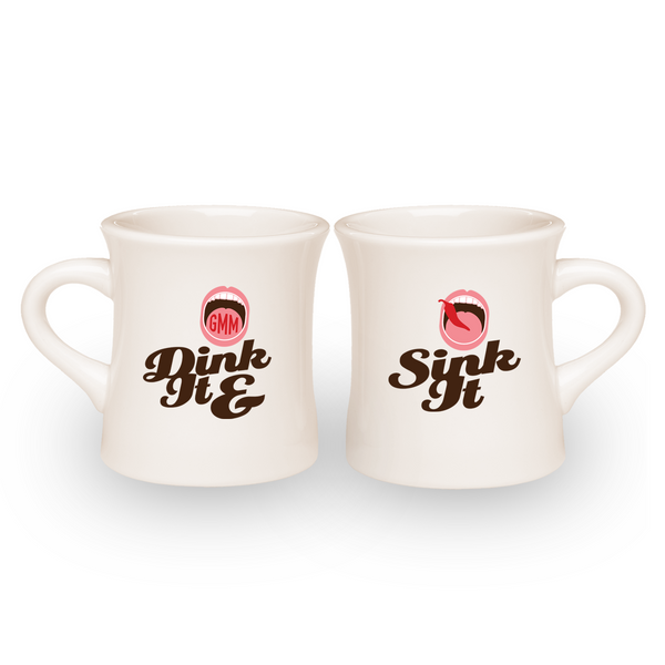 Dink It & Sink It Diner Mug (Drinkware Set)