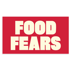 Food Fears Sticker