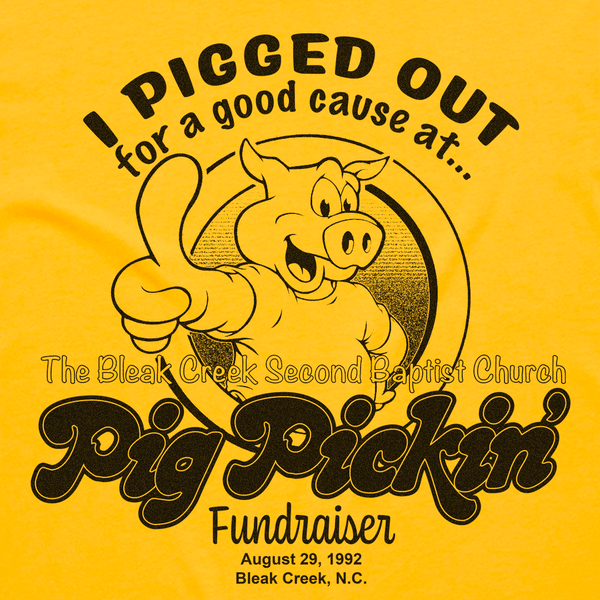 Bleak Creek Pig Pickin Fundraiser Tee