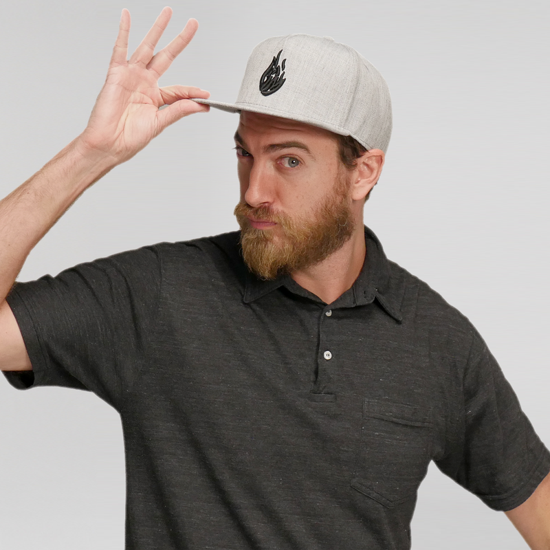 Good Mythical Morning Logo Hat (Grey)