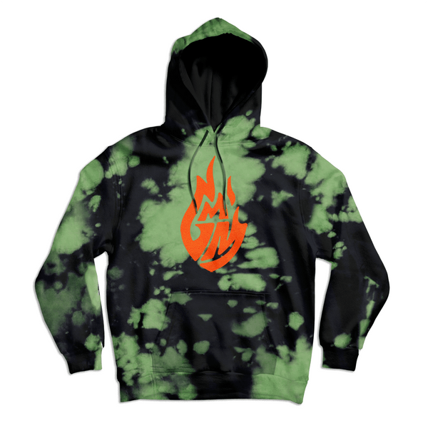 GMM Green Wash Pullover Hoodie