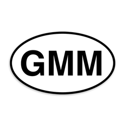 GMM Window Sticker