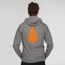 Good Mythical Morning Logo Zip Hoodie (Grey/Unisex)