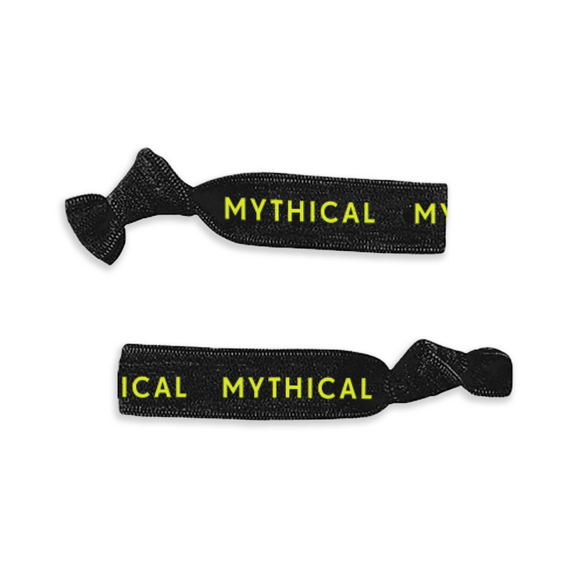 Mythical Neon Hair-Ties (3-Pack)