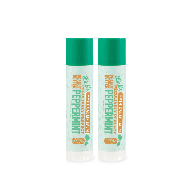 Link's Peculiarly Perfect Peanut Butter Peppermint Lip Balm (2 Pack)