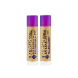 Rhett's Wondrously Wild Wood 'N' Berries Lip Balm (2 Pack)