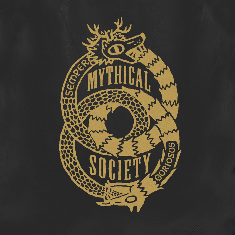 Mythical Society Drawstring Bag