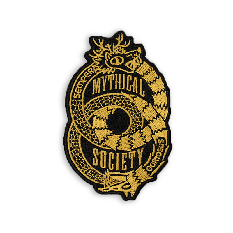 Mythical Society Embroidered Patch