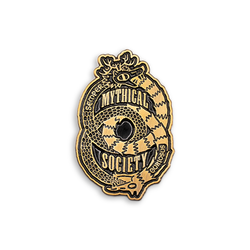 Mythical Society Enamel Pin