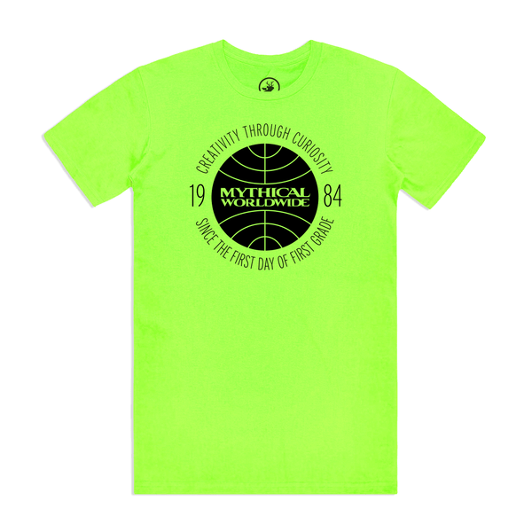 Mythical Worldwide Neon Tee