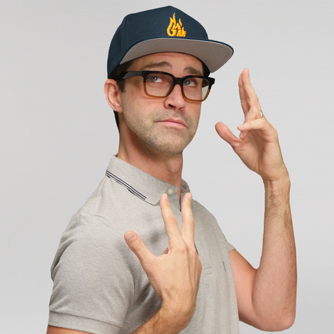 Good Mythical Morning Logo Hat (Navy)