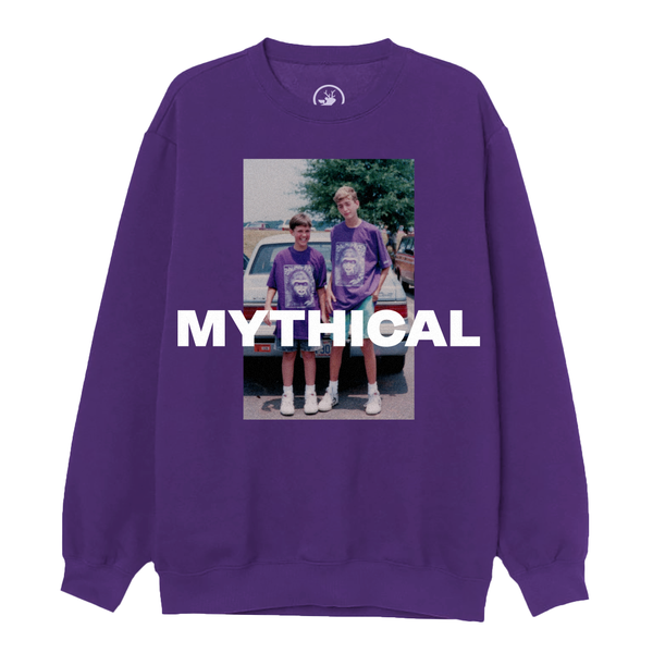 Purple Gorilla Sweatshirt