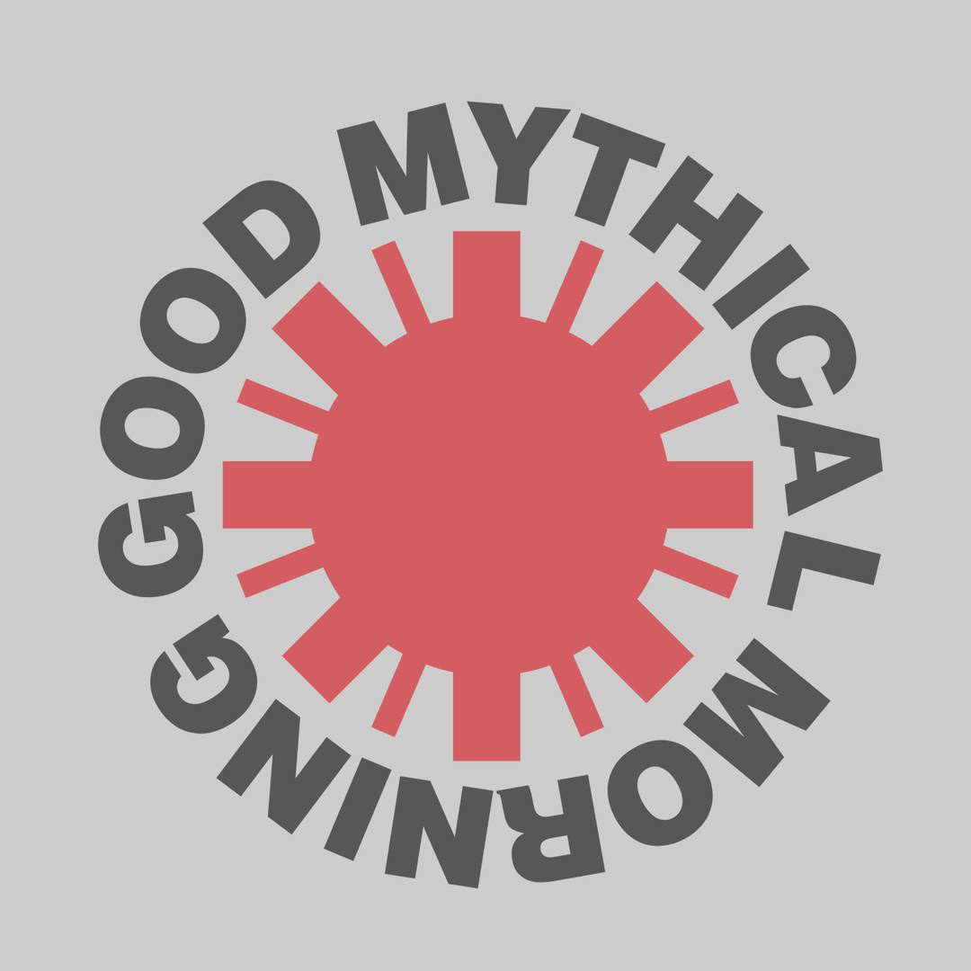 Red Hot Good Mythical Morning Tee (Heather Grey/Unisex)