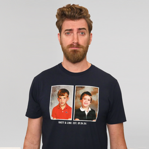 Rhett & Link Friendship Tee (Navy/Unisex)