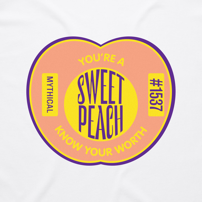 You're a Sweet Peach, Know Your Worth Tee #3