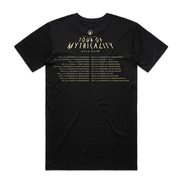 Tour of Mythicality Tee 2018 Edition