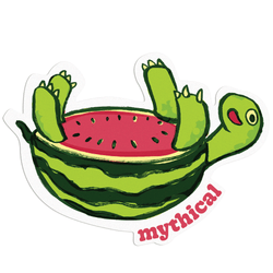 Mythical Kitchen Creature Sticker (Waturtlemelon)