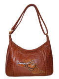 Leather-Snake-skin-purse-conceal-carry-cross-body-handbag