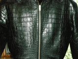 Alligator Jacket - Genuine Alligator Bomber Jacket