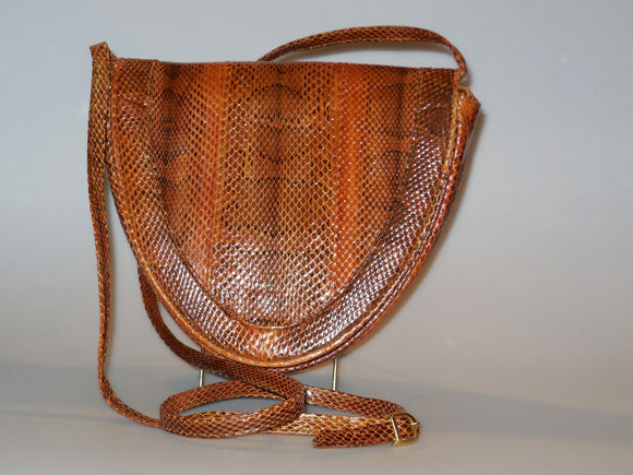 Snakeskin Handbag -On Sale
