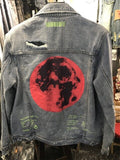 SUPERMOON SHEARLING DENIM JACKET  jeans jacket men