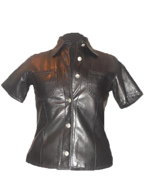 Shirt of Lambskin Leather On Sale $49.00