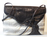 Water Snakeskin & Sea Snake Skin Handbag
