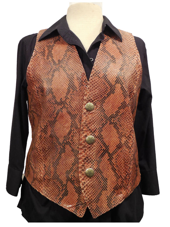 Snakeskin Vest - Ladies - On Sale