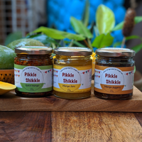 All About Mango - Pack of 3 ( Mango Spicy, Mango jaggery & Mango jam)