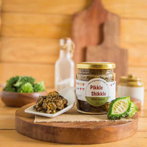 All Natural Bitter Gourd Pickle -Set of 2