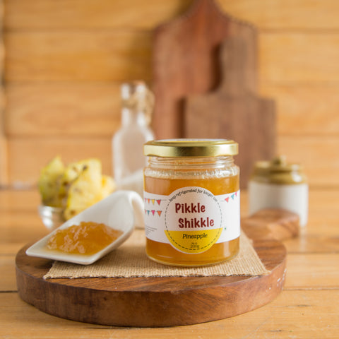 ALL NATURAL PINEAPPLE JAM