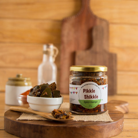 ALL NATURAL TRADITIONAL MANGO PICKLE